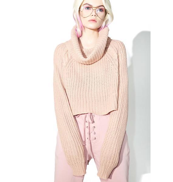 Lazy Daze Cowl Neck Sweater