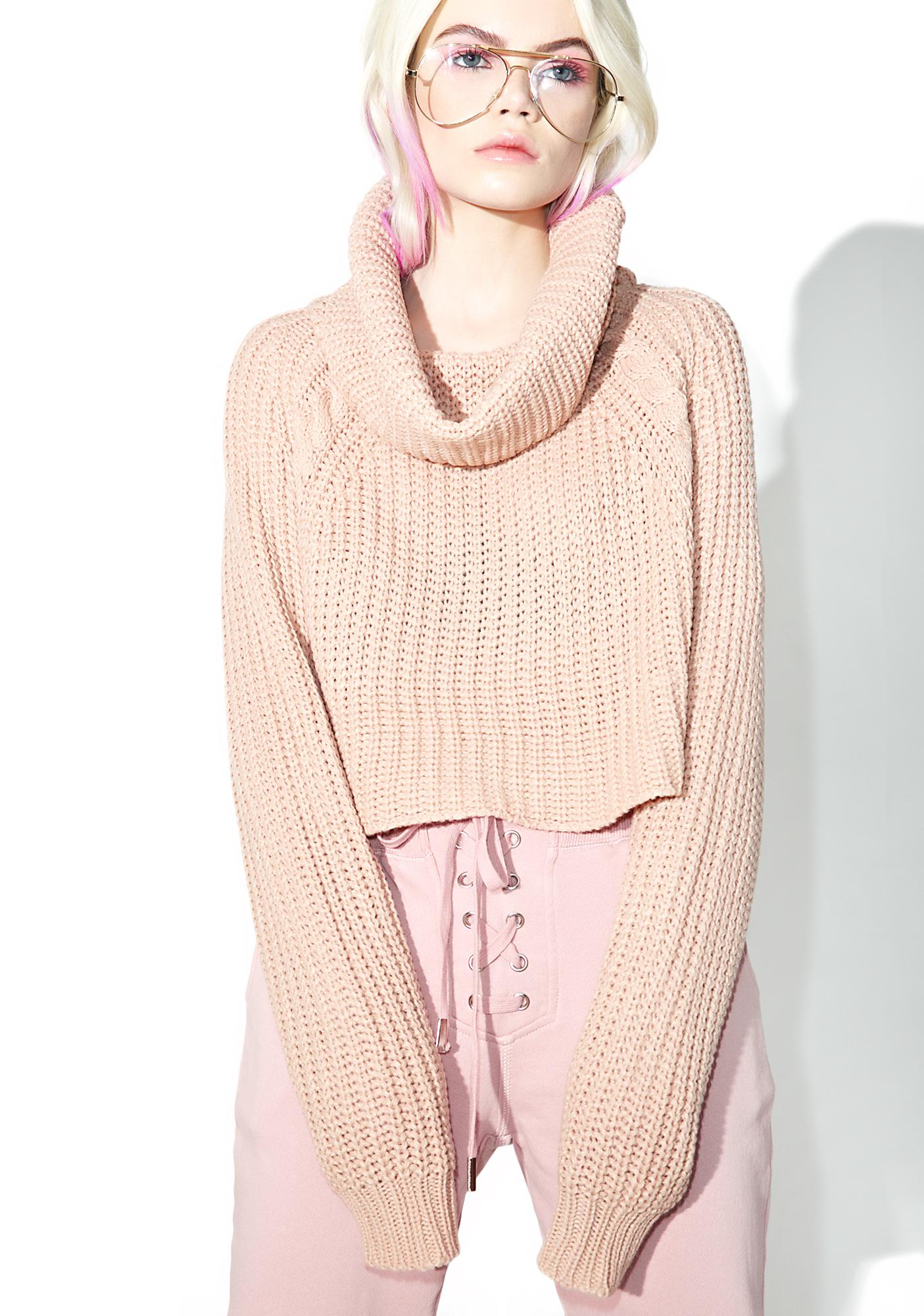 Lazy Daze Cowl Neck Sweater
