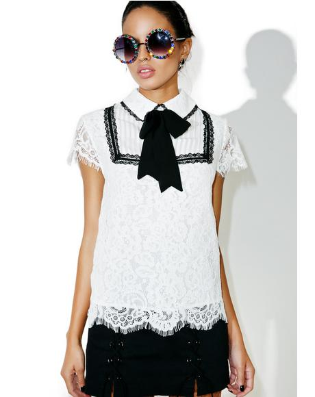 Miaou Lace Shirt