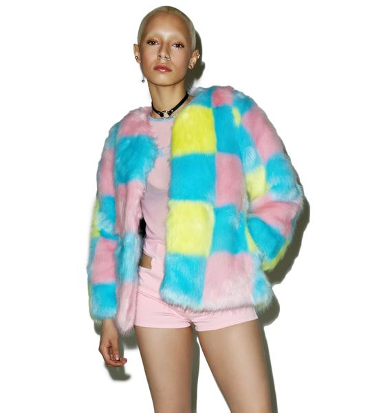 MadeMe Checkered Coat