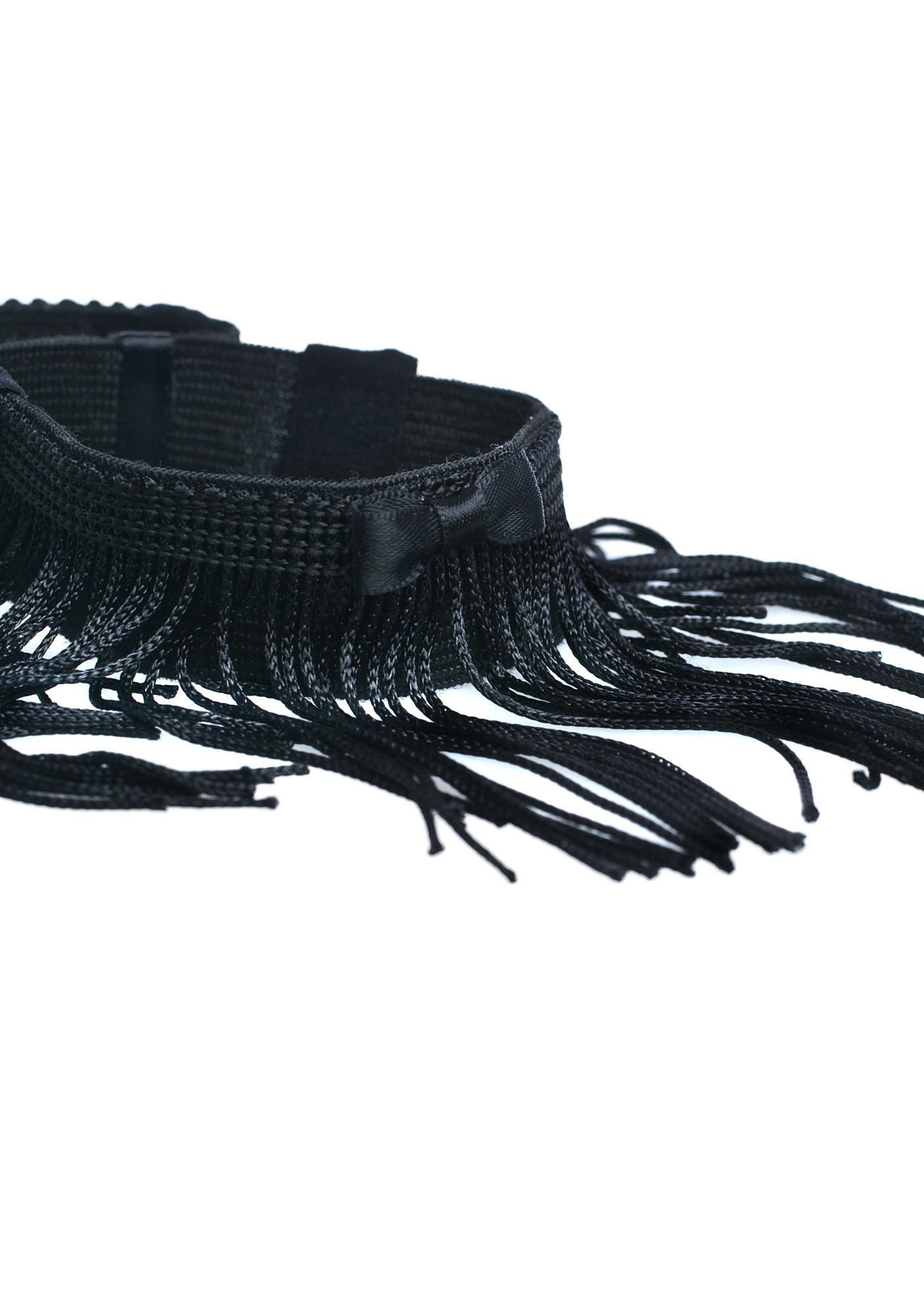 On Da Fringe Bracelet Cuffs