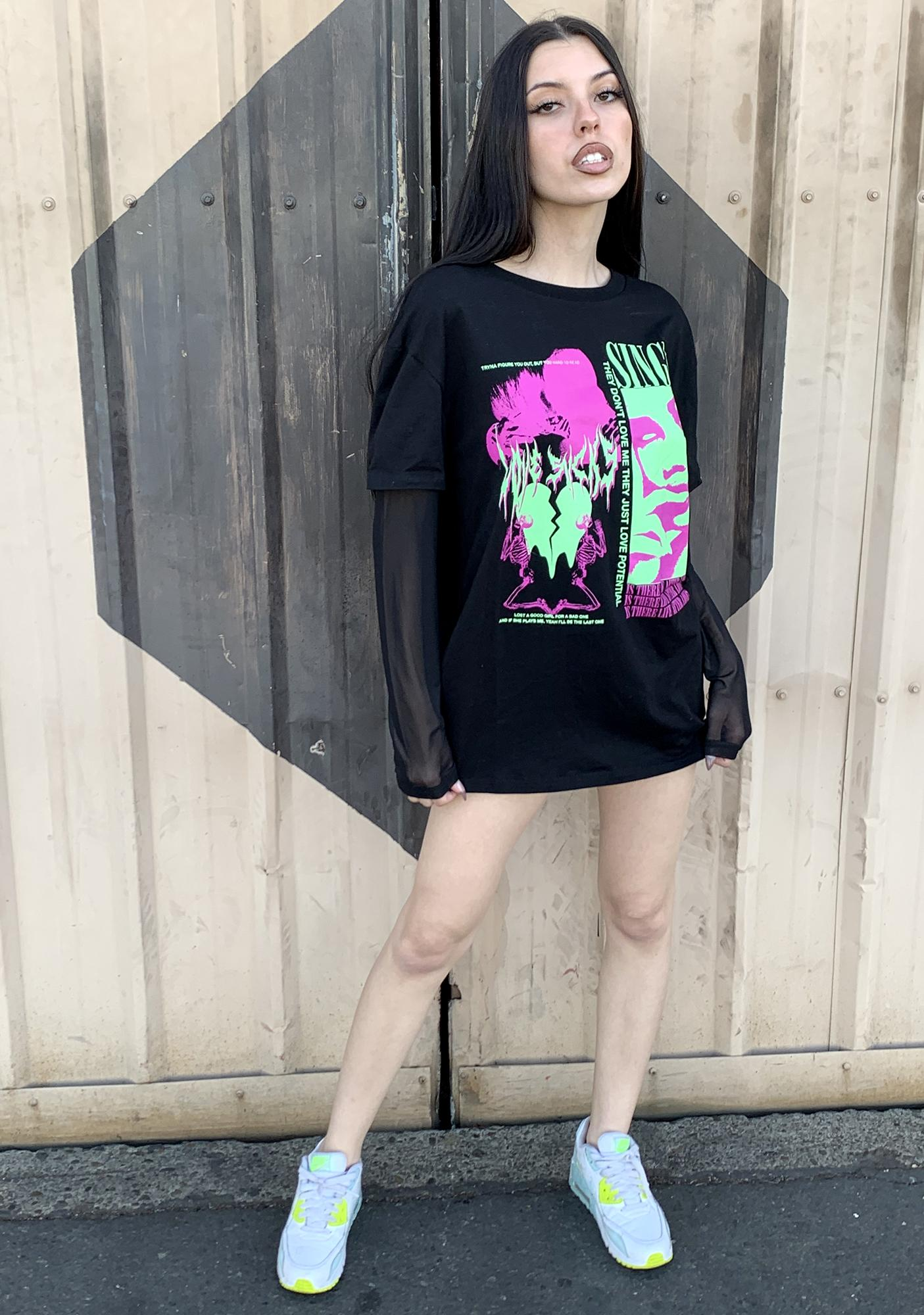 Current Mood Ex Marks The Spot Graphic Tee