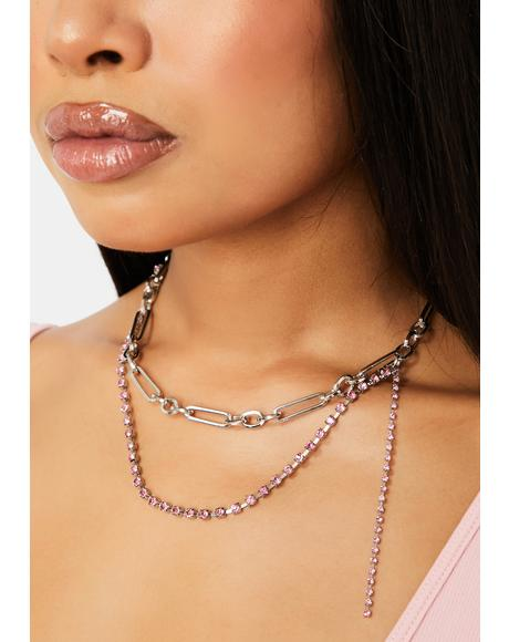 No Contest Layered Chain Necklace