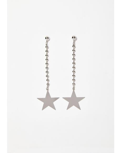 Starlit Sky Dangle Earrings
