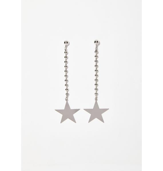 Starlit Sky Dangle Earrings