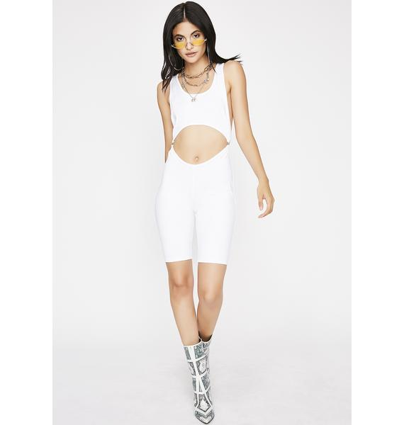 Icy Watch Me Flex Cutout Catsuit