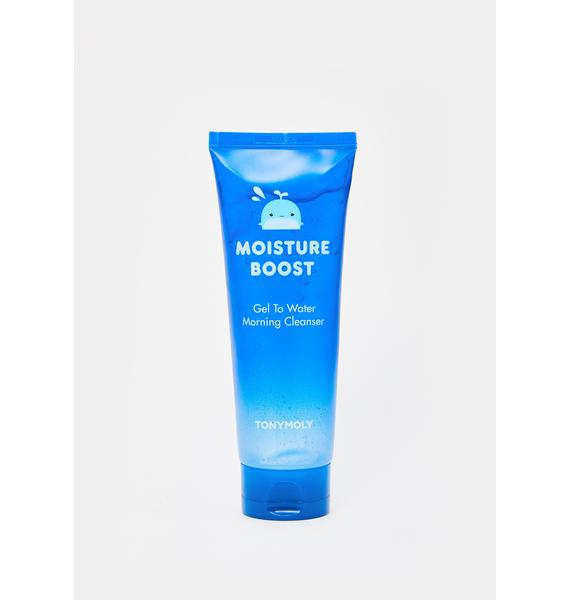 TONYMOLY Moisture Boost Gel To Water Morning Cleanser