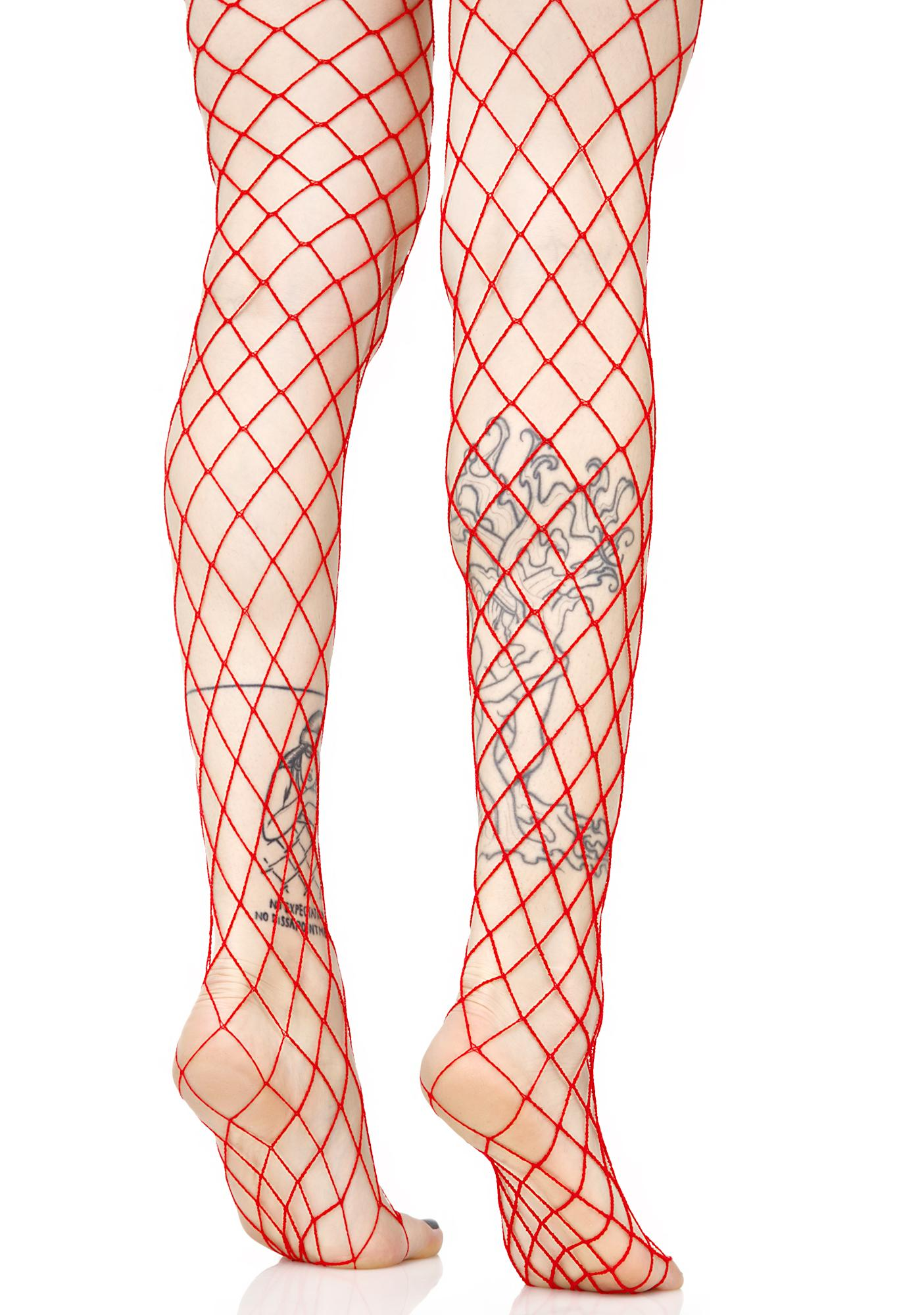 fishnet doll