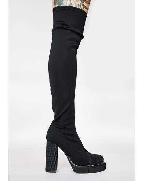 Critic Over The Knee Boots