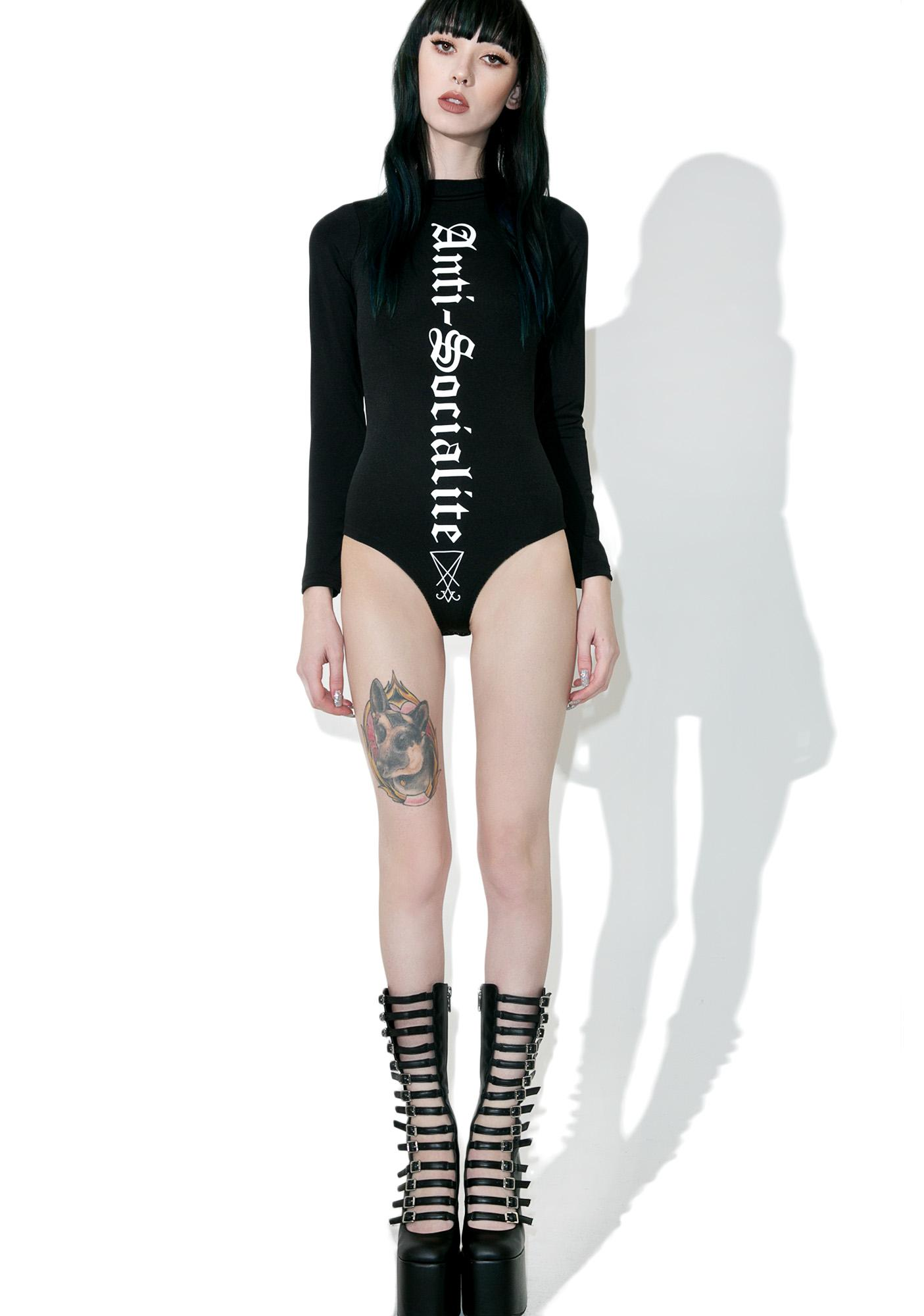 Disturbia Anti-Socialite Bodysuit