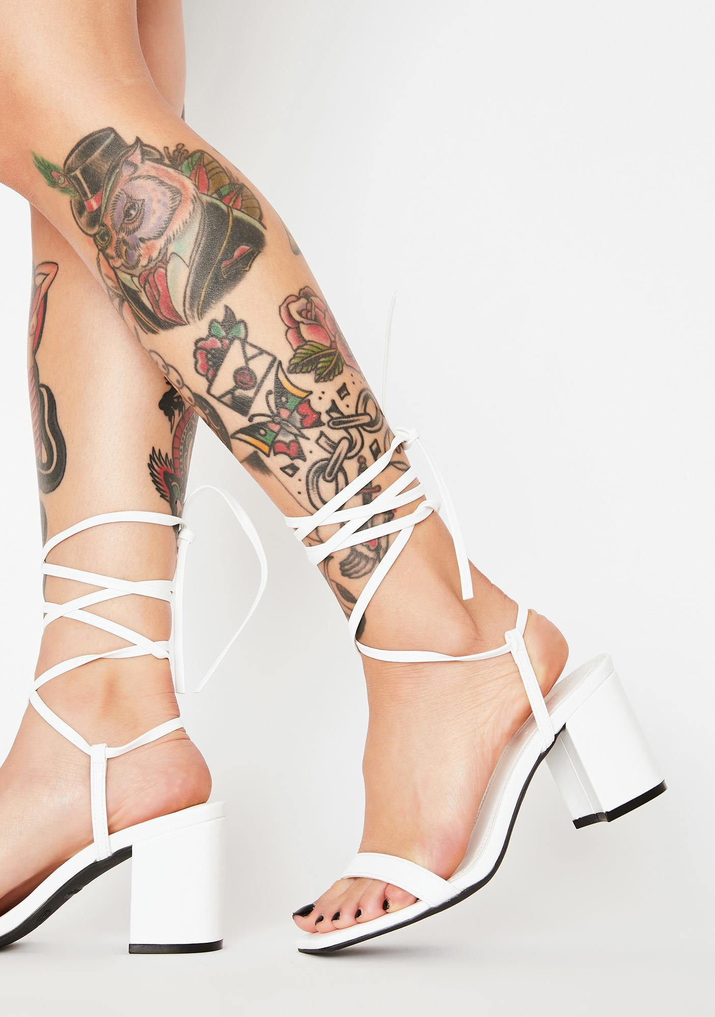 Yours Forever Wrap Heels