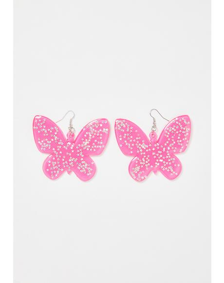 Love Spring Butterfly Earrings