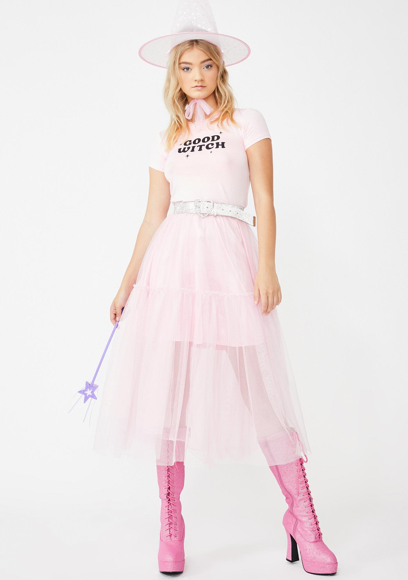 Dolls Kill Bewitched Belle Baby Tee