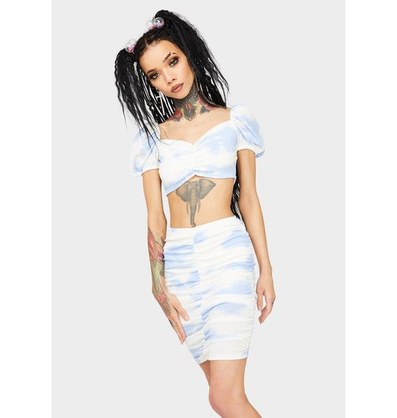 Up In The Air Skirt Set
