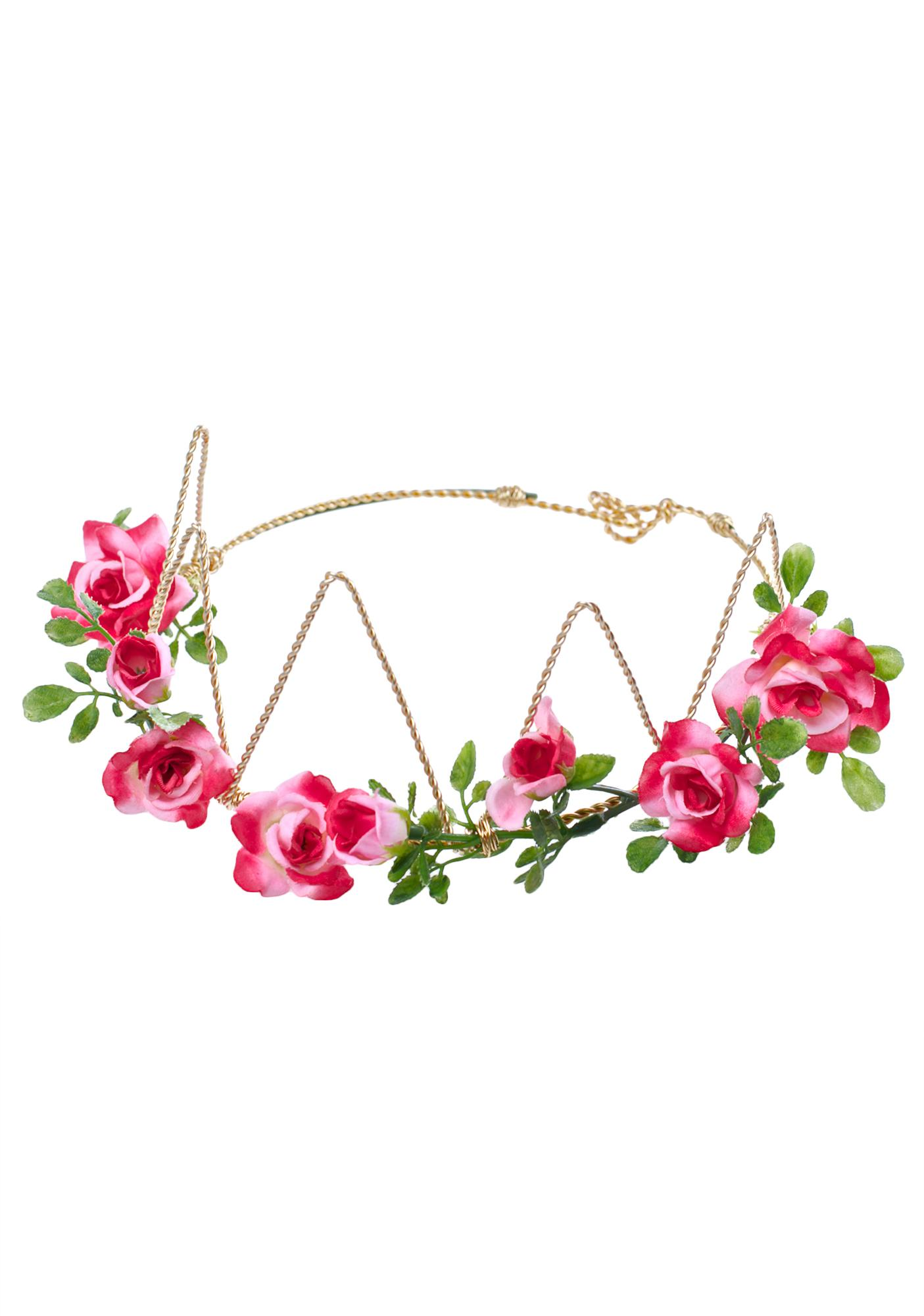 Vidakush Pink Flora Crown