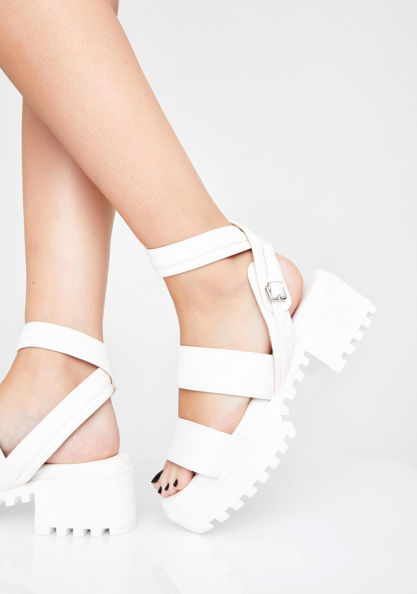 Icy Feisty Fury Platform Sandals