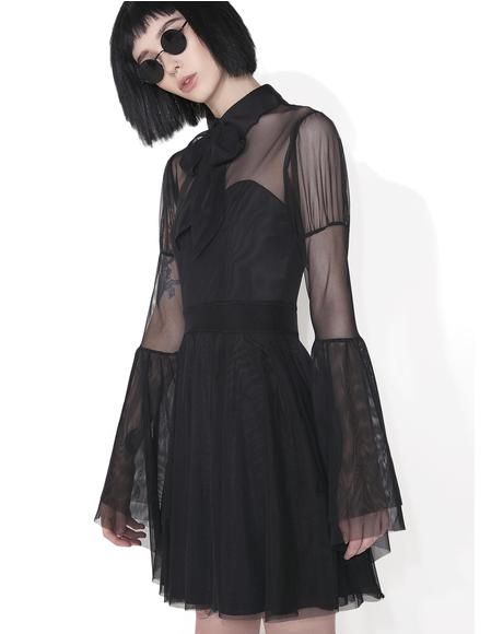 Bound By Blood Chiffon Dress