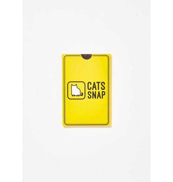 Cats Snap Card Game
