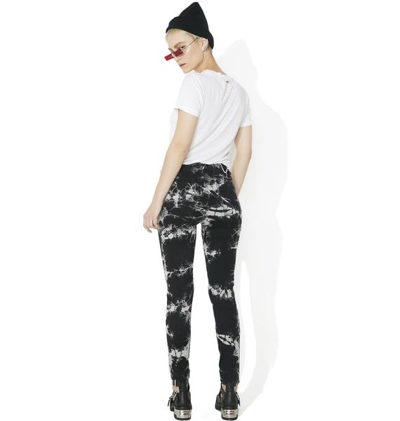 Tripp NYC High Waisted Tie-Dye Pants