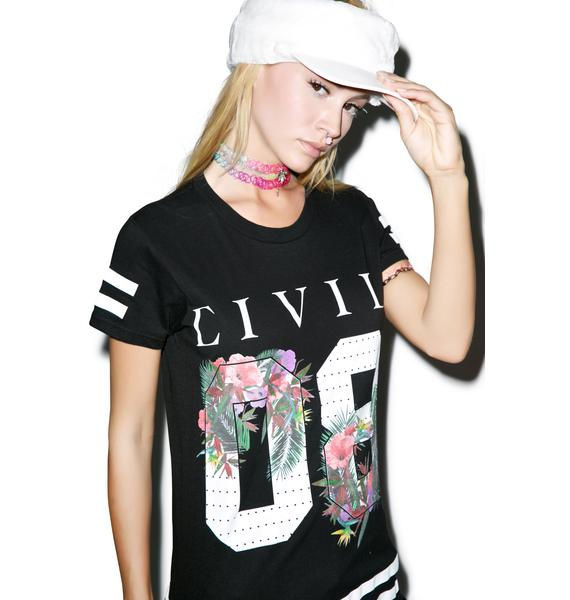 Civil Clothing Floral 08 BF Tee