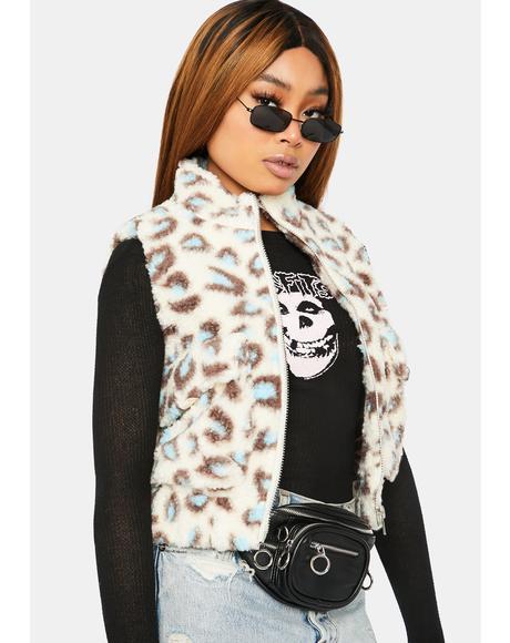 Give Me Love Faux Fur Vest