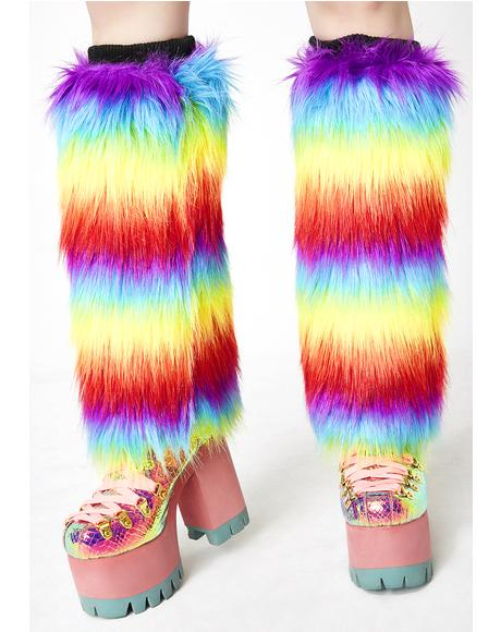 Kandi Drop Fuzzy Boot Covers