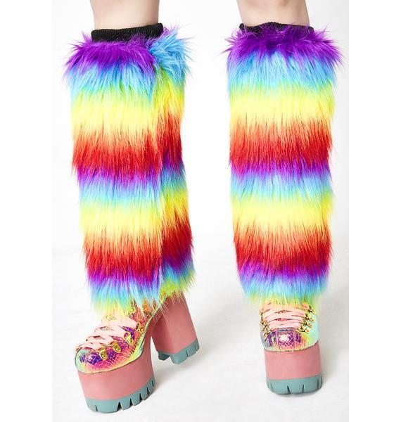 Kandi Drop Fuzzy Boot Covers