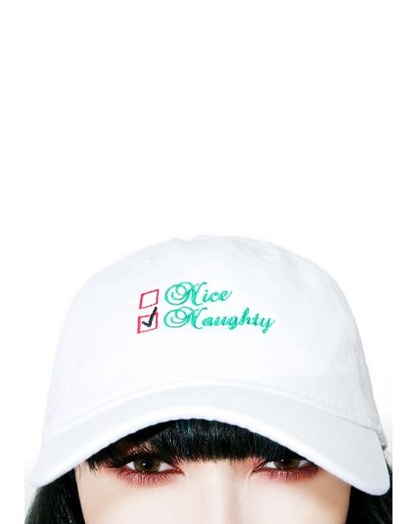 Naughty List Dad Hat
