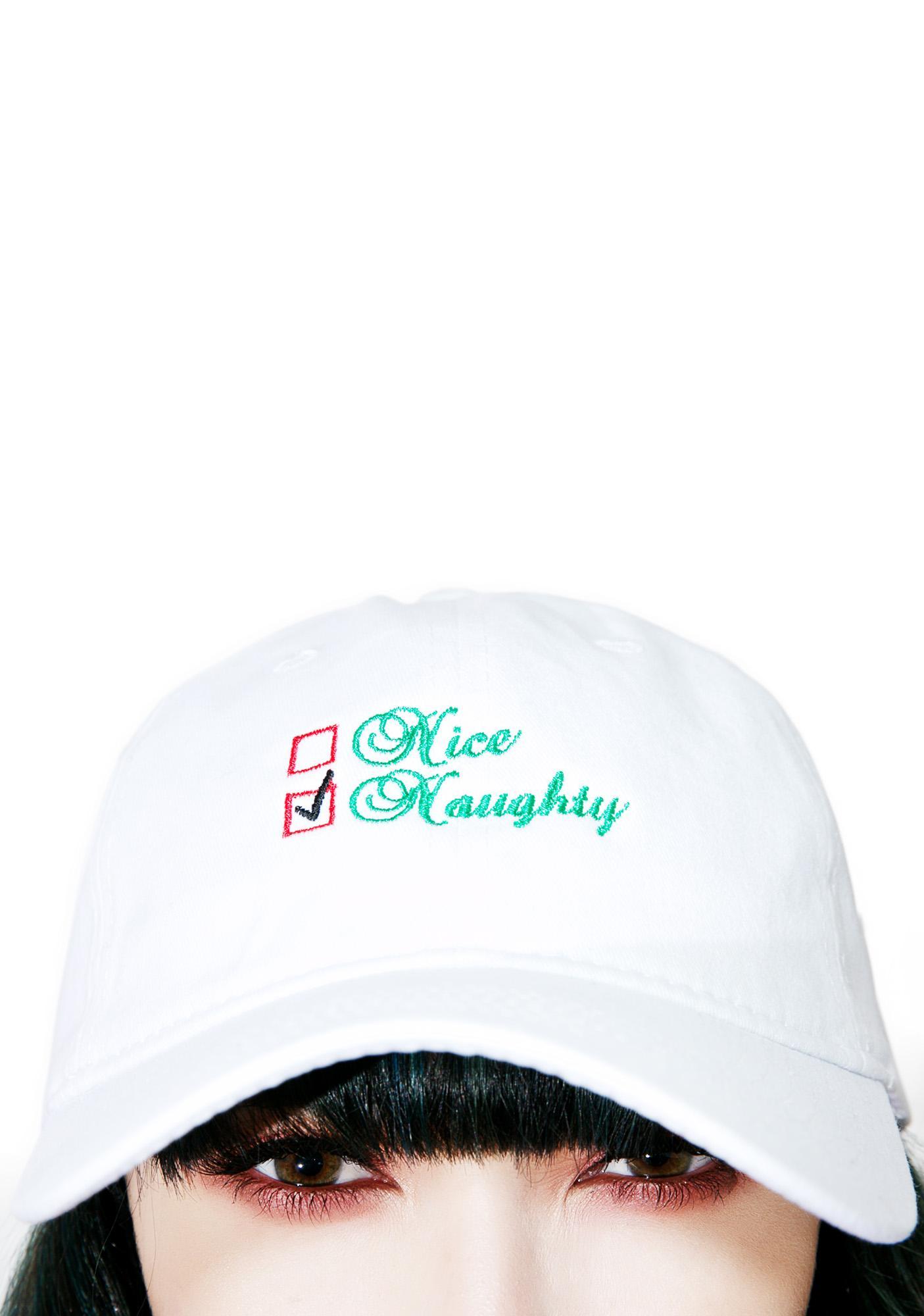 Naughty List Dad Hat