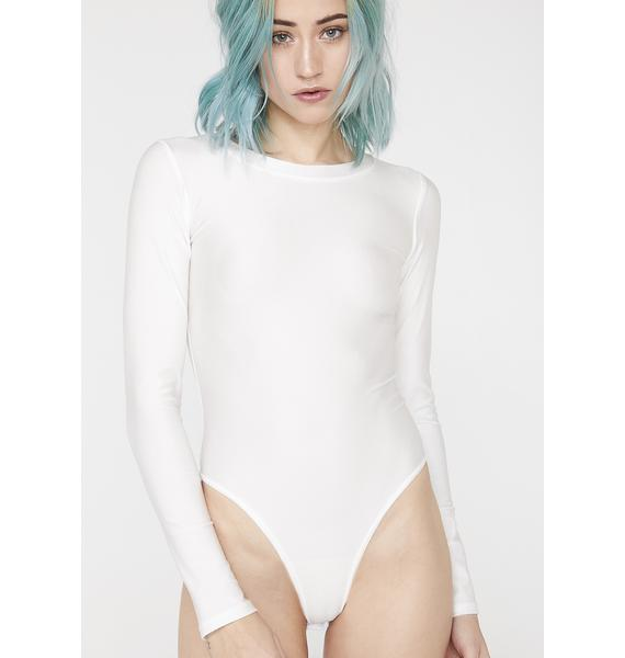 My Mum Made It Spandex Crew Neck Bodysuit