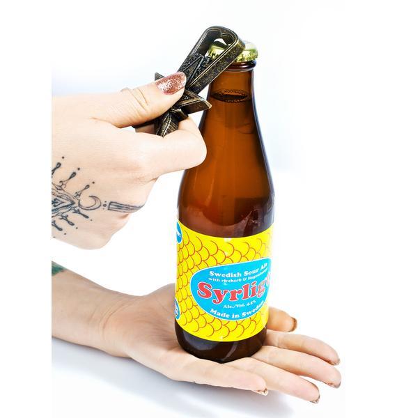 HUF Thrasher Goat Bottle Opener