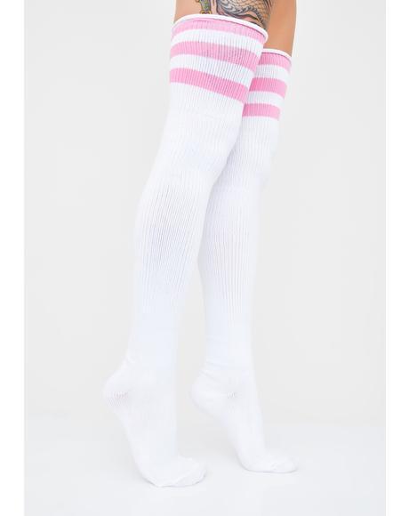 Candy Ice Princess Thigh High Socks