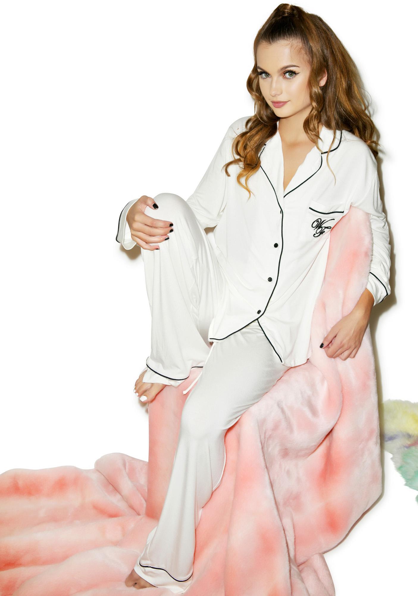 Wildfox Christmas Pajamas.Morning Person Classic Pajama Set