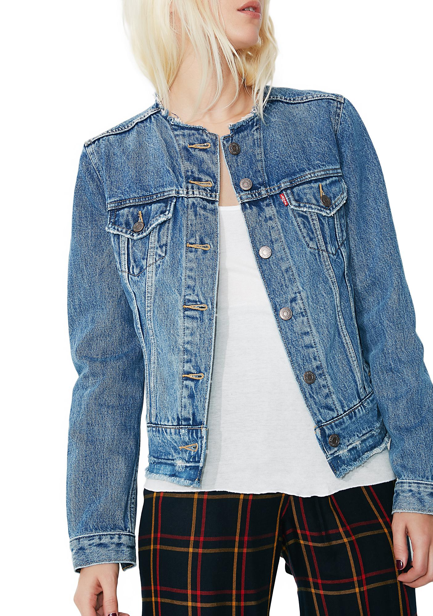 Levis Altered Trucker Jacket