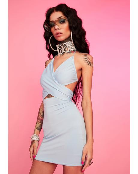 Powder Gonna Love Me Halter Dress