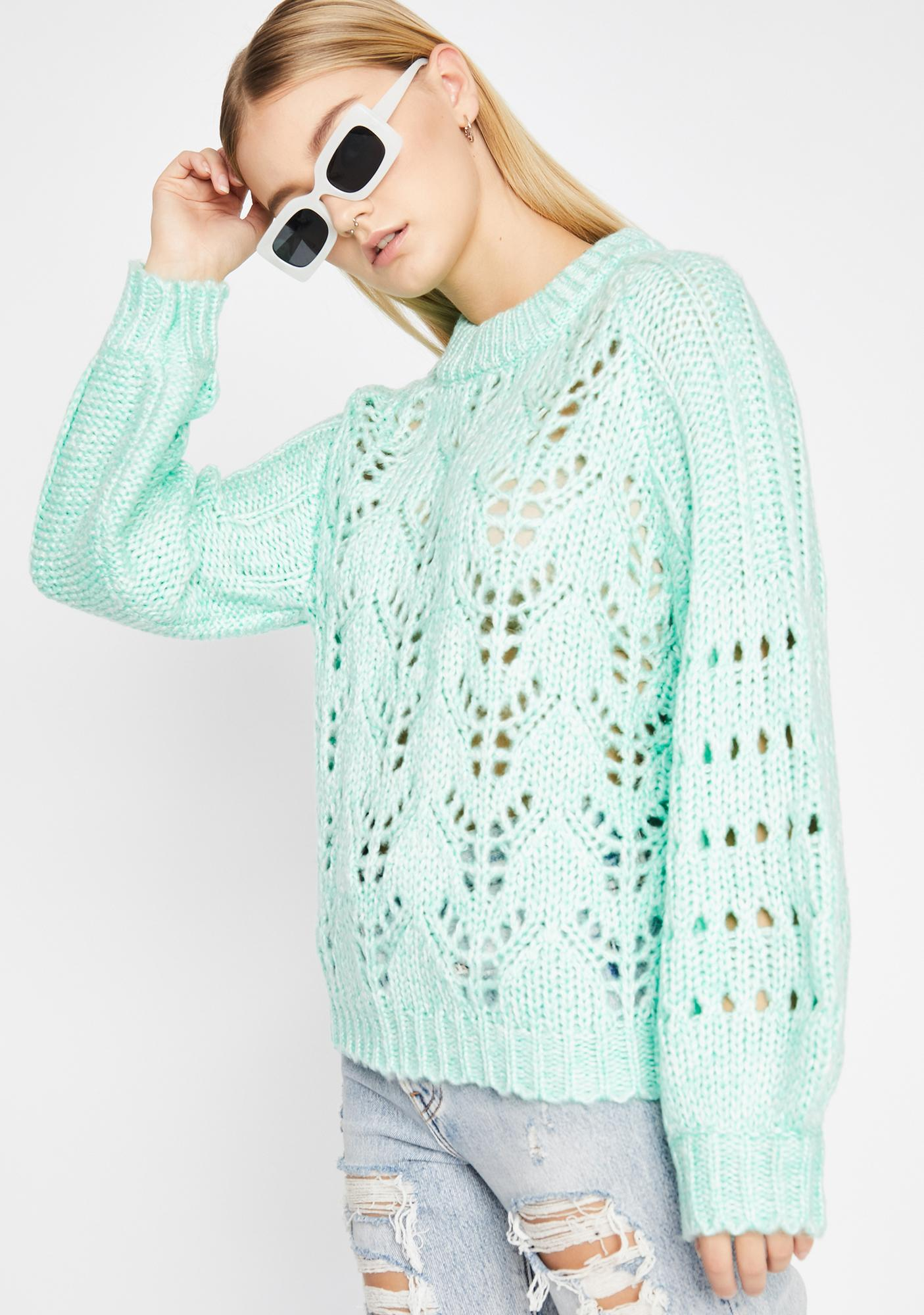 Too Cute To Cuddle Knit Sweater