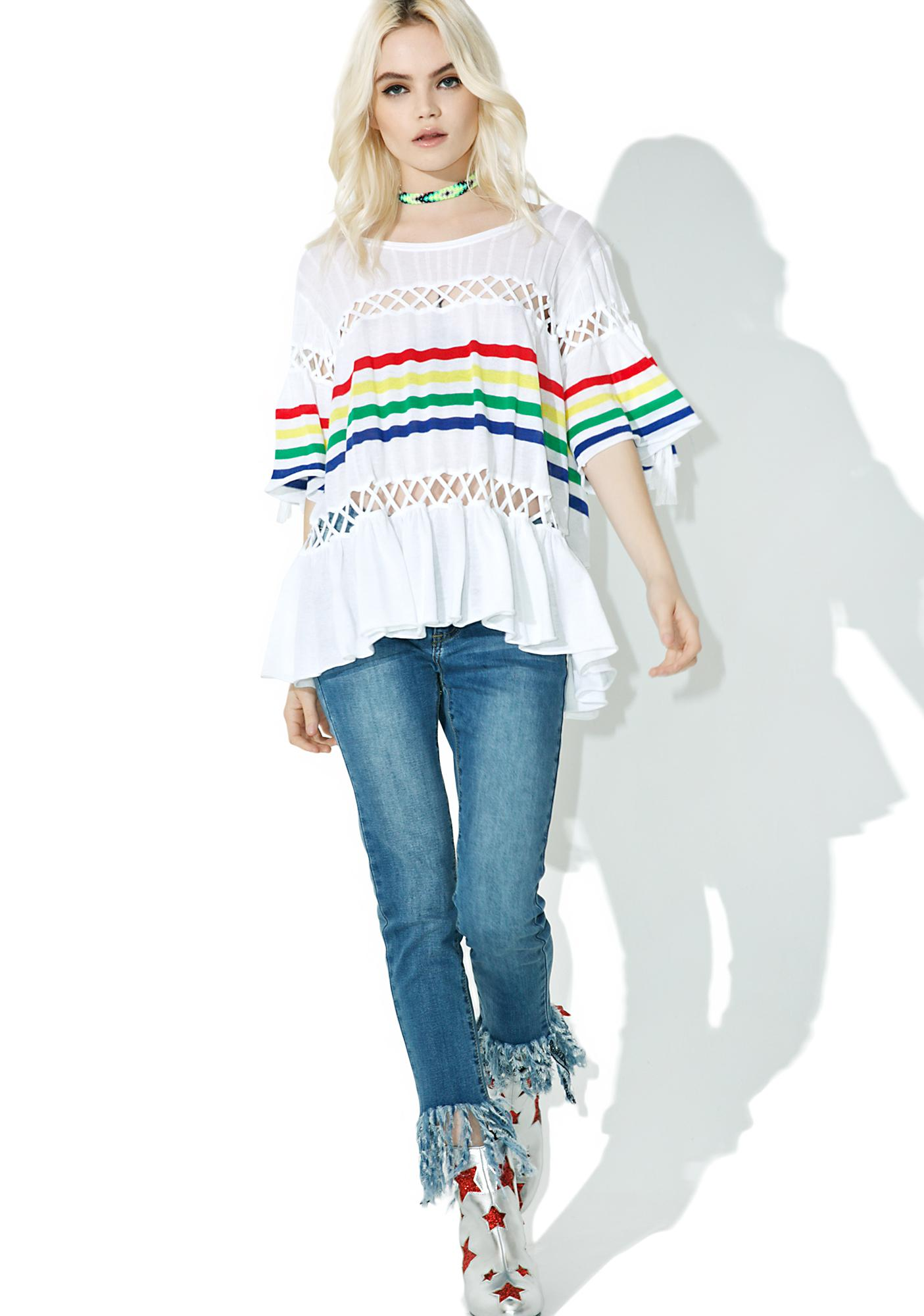 Wildfox Couture South Beach Stripe Sweater