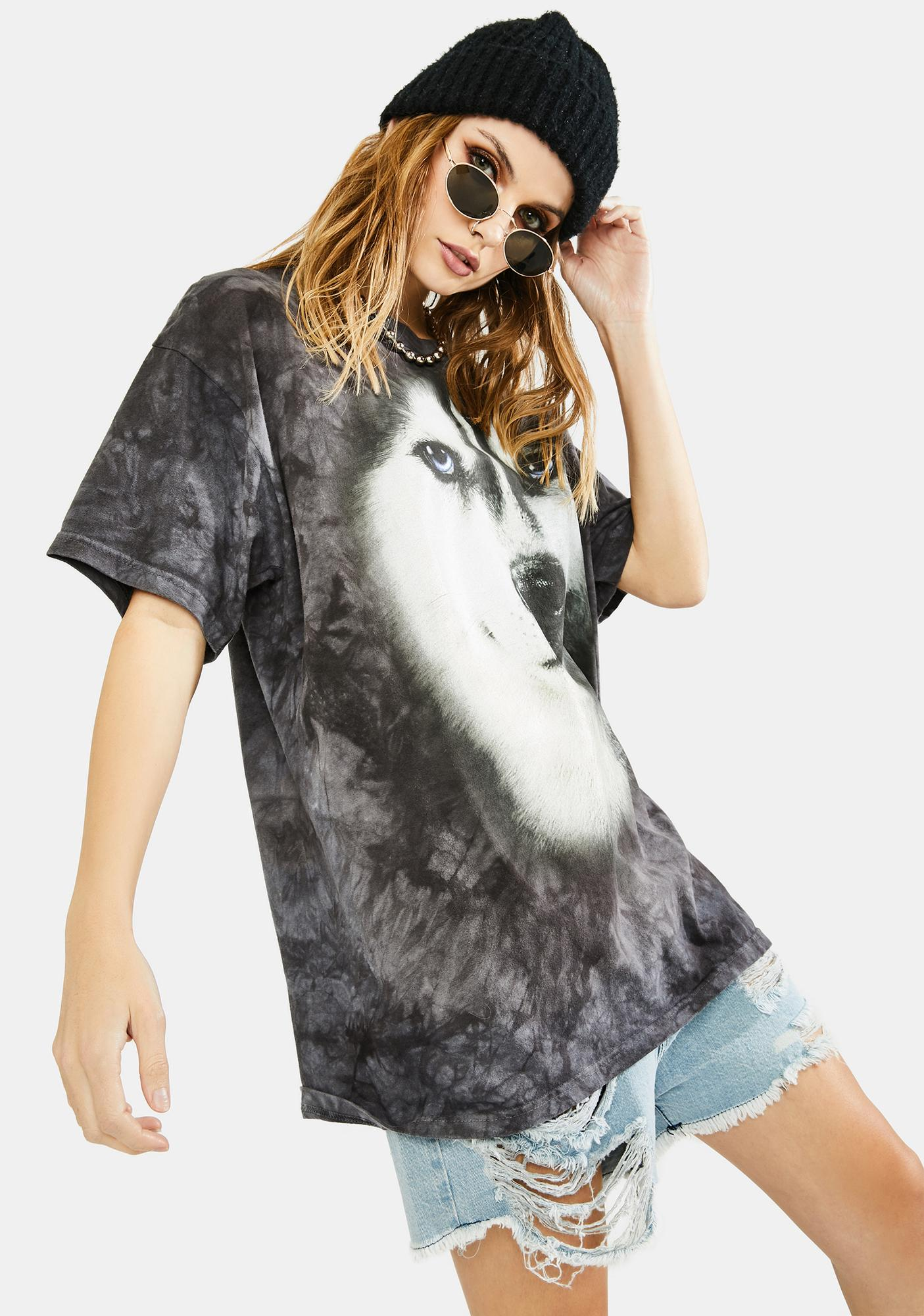 The Mountain Siberian Face Graphic Tee