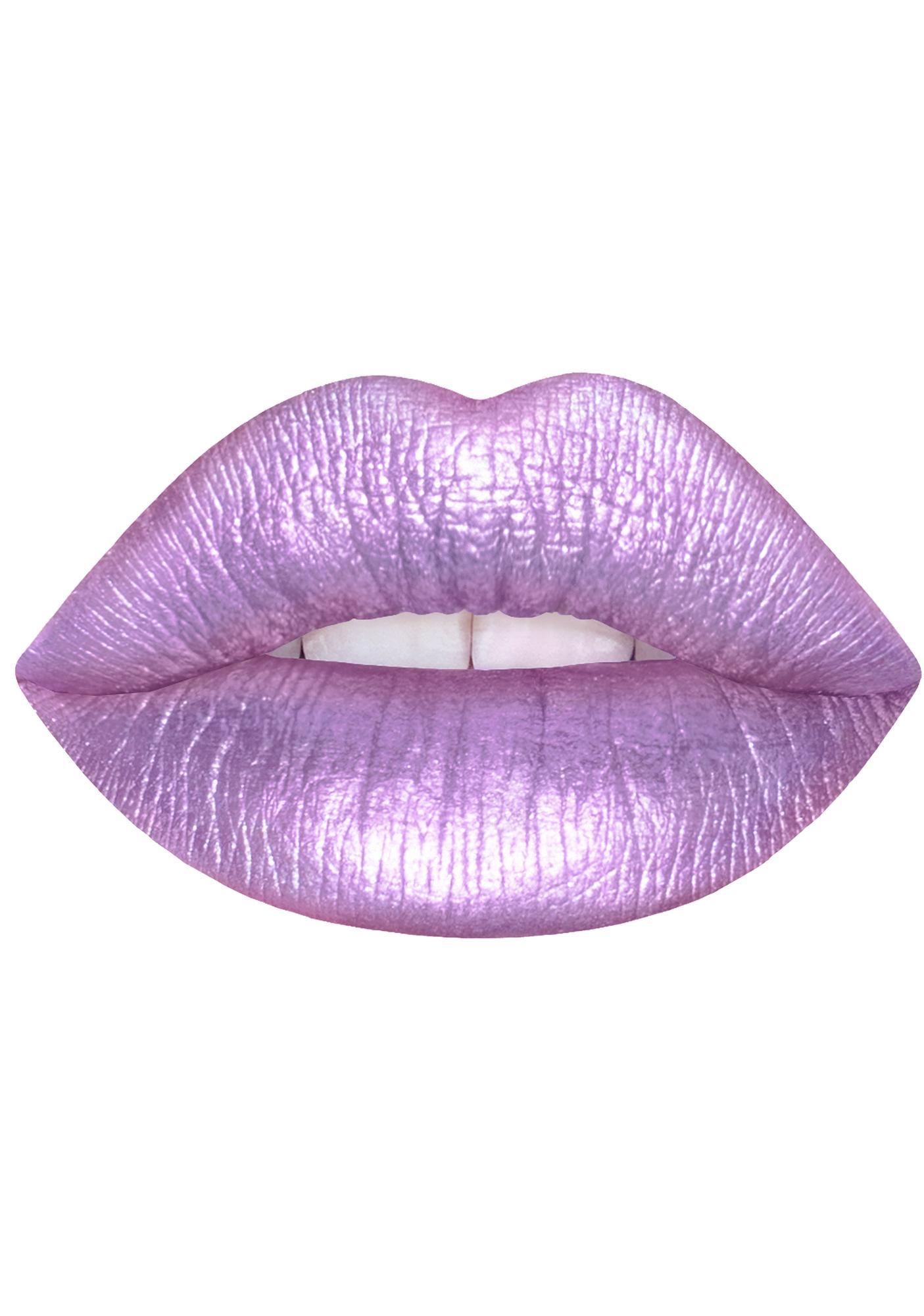 Lime Crime Seashell Bra Metallic Velvetine Liquid Lipstick