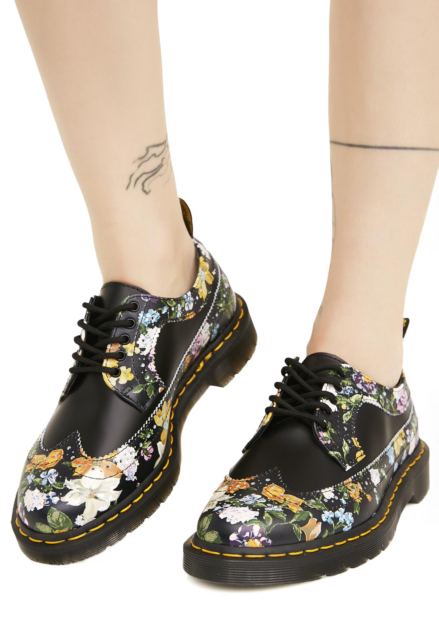 dr martens 3989 darcy floral backhand dolls kill. Black Bedroom Furniture Sets. Home Design Ideas