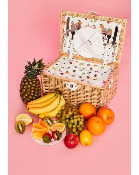 Beach Sugar N' Spice Picnic Basket