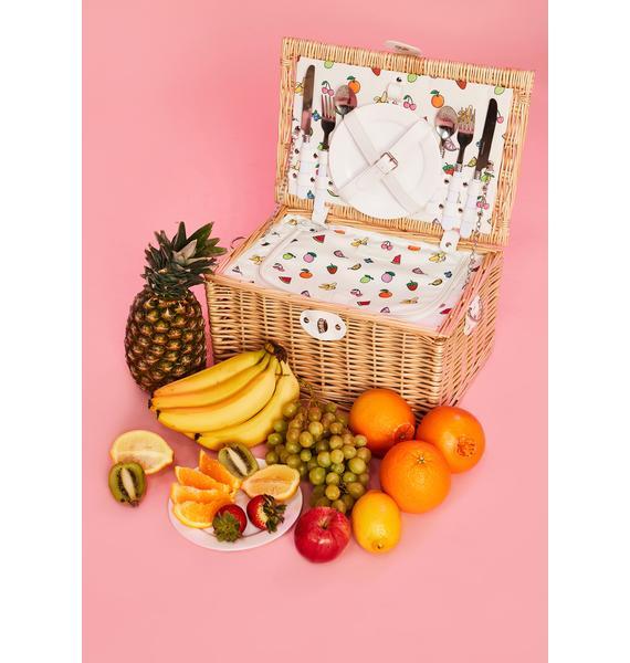 Sugar Thrillz Beach Sugar N' Spice Picnic Basket