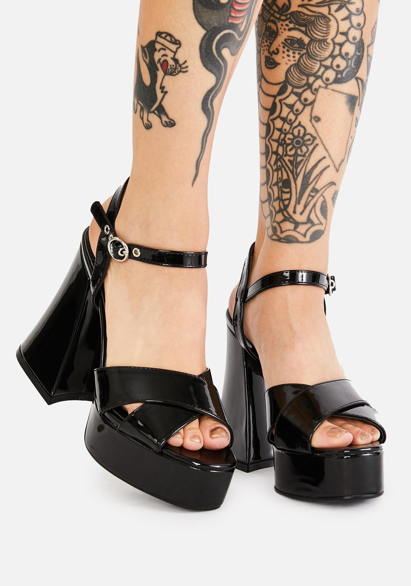 Lamoda The Dopest Platform Sandals