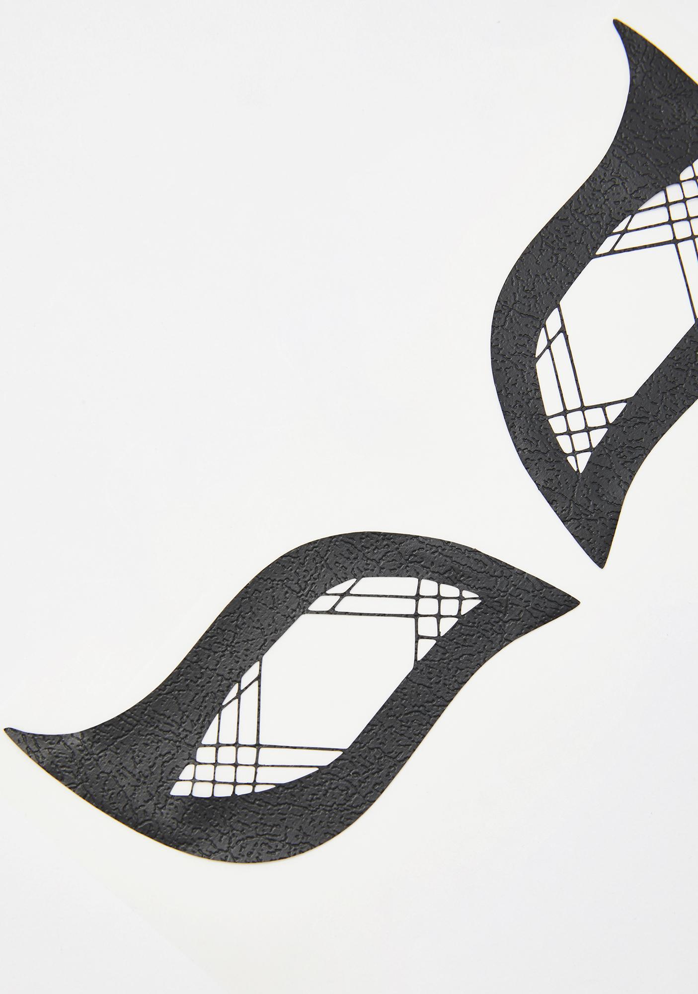 Face Lace Lattice Wings Face Mask