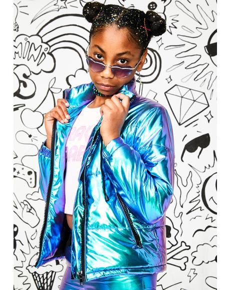 Kids Space Bae Escapade Puffer Jacket