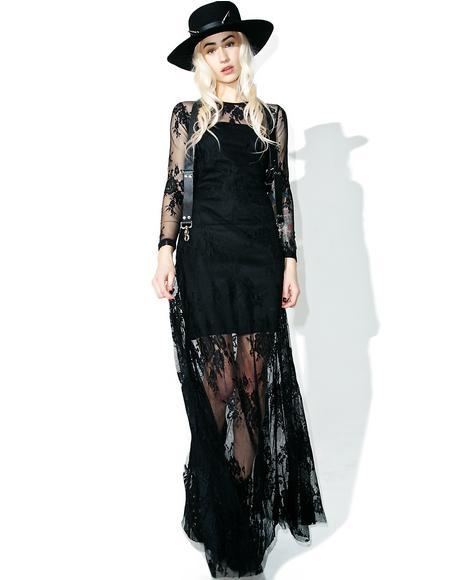 Healer Lace Maxi Dress