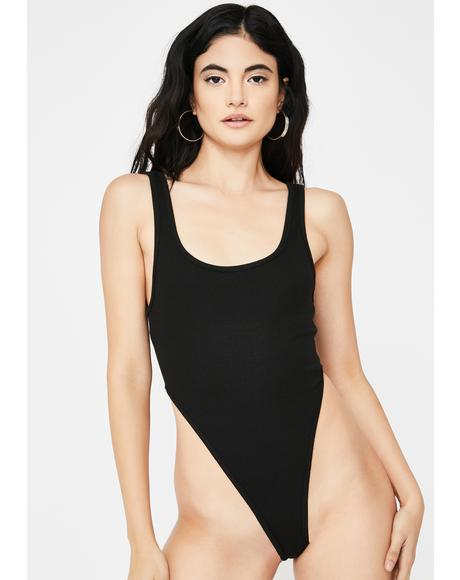 Cora High Cut Bodysuit
