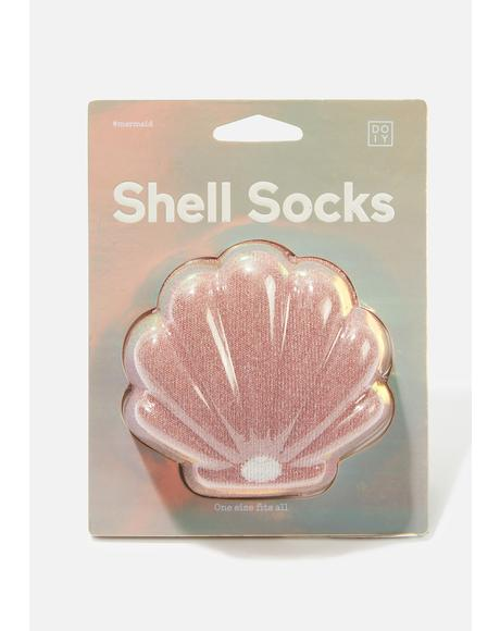 Shell Ankle Socks