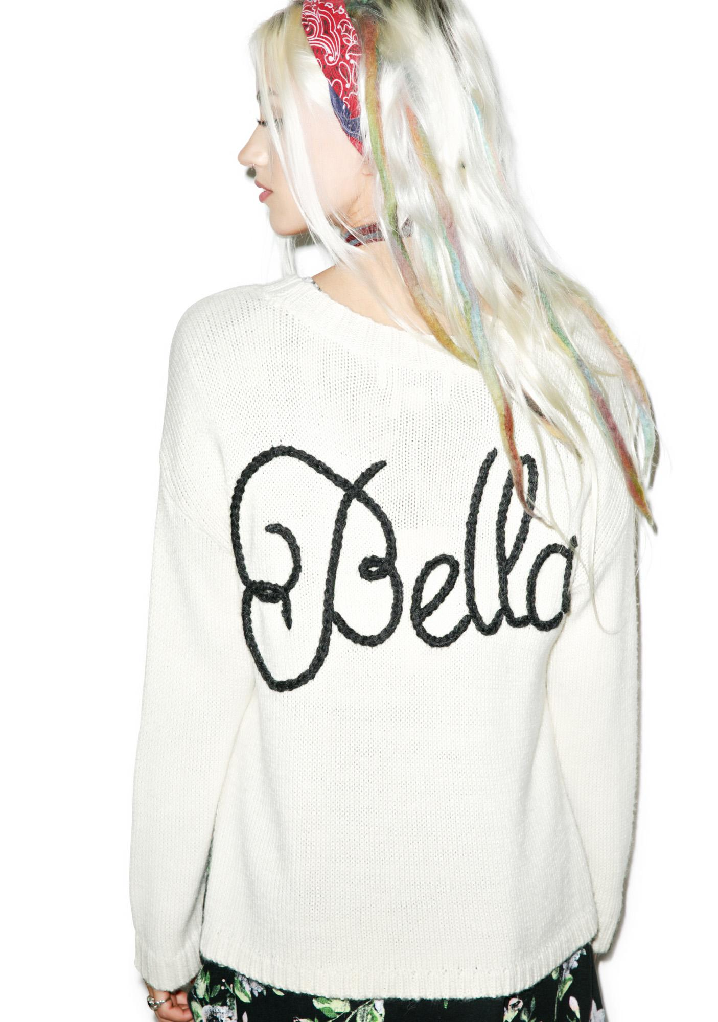 Wildfox Couture Ciao Bella Dinner Party Sweater
