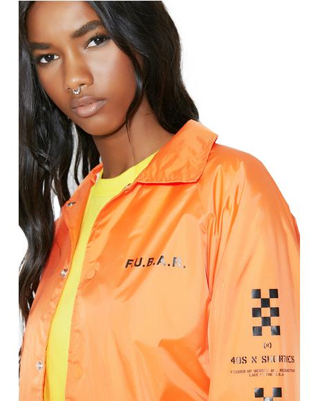 F.U.B.A.R. Coaches Jacket